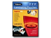 FELLOWES LAMINAT POUCH 60X90MM 125MIC 100PK