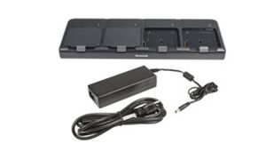 For recharging upto 4 batteries. Kit includes Dock and Power Supply, must order Power Cord separately.