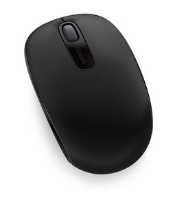 MICROSOFT Wireless Mobile Mouse 1850 Optisk Sort (U7Z-00004)
