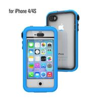 iPhone 4/4S Waterproof Case, Pacific Blue