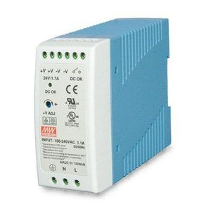 PLANET POWER SUPPLY 60W 24V DC SINGLE OUTPUT INDUSTRY DIN RAIL ACCS (PWR-60-24)