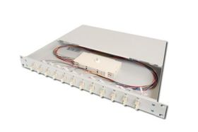 DIGITUS FIBER OPT.SPLICE BOX, 24XLC,OM3 EQUIPPED CABL (DN-96332/3)