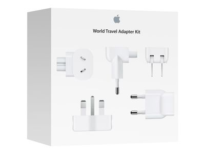APPLE WORLD TRAVEL ADAPTER KIT VERSION 2015 CHAR (MD837ZM/A)