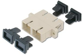 SC / SC DUPLEX COUPLER GREY MULTIMODE CABL
