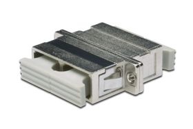 SC / PC DUPLEX COUPLER GR CABL