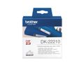 BROTHER Label roll/ white 29mmx30, 48m f QL-series