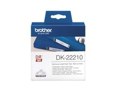 BROTHER Label roll/ white 29mmx30.48m f QL-series