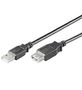 Wentronic Cable USB2 A/A M/F 5m extension cable