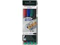 FABER-CASTELL OH-Penna Multimark m Permanent 4-Set