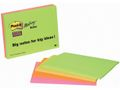 POST-IT POST-IT® SuperS 125x200mm linjer ass (2)