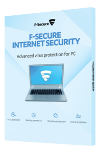 F-SECURE Internet Security (1År 3PCs) Attach, Nordisk, SlimBox (FCIPAT1N003NC)