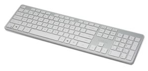 KB-01WSV Bluetooth Tastatur - silber (UK)