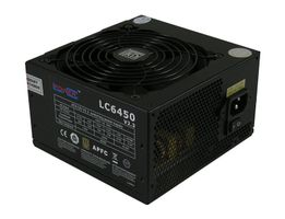 PSU  450W LC-Power LC6450 V2.3 2x12V, 12cm, SuperSilent, 80+