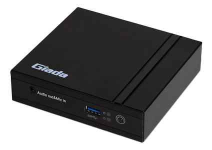GIADA F200 Ultra Compact IPC Mini PC, Cel N2807, 2GB/mSATA (F200-BB200H)