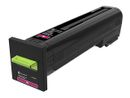 LEXMARK Toner High Yield Corporate Magenta for CX820 CX825 CX860 17k