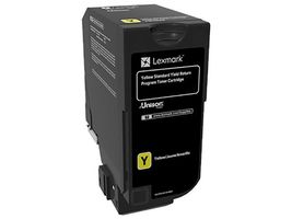 LEXMARK Ret Toner Yellow Yield f CS720, CX/CS725 (74C2SY0)
