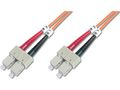ASSMANN Electronic Fib Opt. Patch Cord. SC to SC