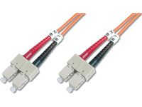 FIBER OPTIC PATCH CORD. SC-SC GR CABL