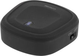 DELTACO Portabel Bluetooth-ljudmottagare,  Bluetooth 3.0, 220mAh, svart (BT-124)