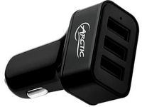 ARCTIC COOLING Charger ARCTIC Car Charger 7200 (3Port USB In-Car) retail (APCCH00003A)