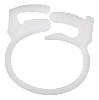 Cord Ring Clamp White
