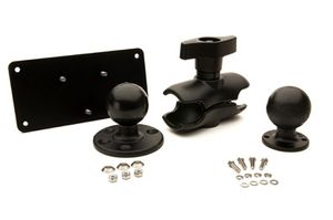RAM MOUNT KIT PLATE SHORT ARM 5 IN 128 MM BALL F/ VEHICLE DOCK