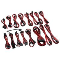 C-Series AXi, HXi & RM Cable Kit - schwarz/ rot