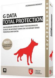 G DATA ESD G Data Total Protection 2U 3Y Consumer, Desktoplizenz (C1003ESD36002)