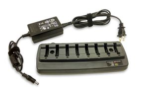 8 BAY BATTERY CHARGER W/ PS US POWER CORD D70E/8650
