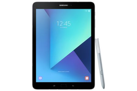 "SAMSUNG Galaxy Tab S3 9.7"" 32GB Sølv WiFi,  9.7"" Super AMOLED skjerm, 12/5MP kamera, Android 7.0, MicroSD-> 256GB (SM-T820NZSANEE)"