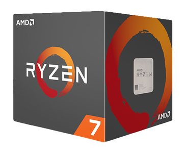 AMD Ryzen R7 1700 CPU - 3 GHz -  AM4 - 8 kerner -  Boxed (PIB) (YD1700BBAEBOX)