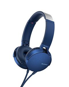 SONY MDRXB550APL Extra Bass - Mic and vivid colors - Blue (MDRXB550APL.CE7)