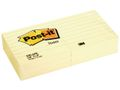 POST-IT Notes POST-IT linieret 76x76mm gul
