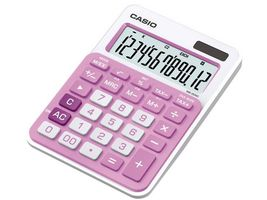 CALCULATOR CASIO MS-20NC-PK DESKTOP PINK