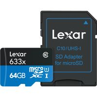 16GB microSDHC UHS-I High Speed w adapter CL10