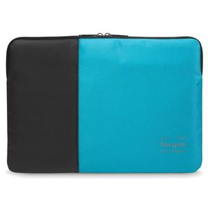 TARGUS 12__ Pulse Laptop Sleeve Black and Atoll Blue (TSS94602EU)