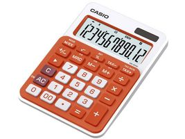 CASIO CALCULATOR CASIO MS-20NC-RG DESKTOP ORANGE (MS-20NC-RG)