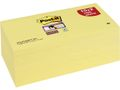 POST-IT Notes 654S Super Sticky Gul 76x76mm