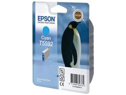 EPSON Cyan Ink Cartridge T559 For Stylus Photo RX700 (C13T55924010)