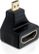 DELOCK HDMI High Speed with Ethernet adapter, Micro HDMI ha - HDMI ho