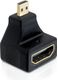 DELOCK HDMI High Speed with Ethernet sovitin, Micro HDMI u - HDMI n