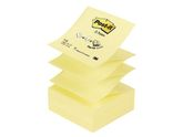Notes POST-IT Z-block 76x76mm gul / POST-IT (FT510000092*12)