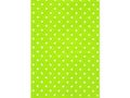 HEDLUNDS Presentpapper 38cmx165m Dots, lime