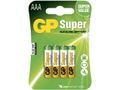 GP Batteri Peak Power /GP AAA/LR3 (4)