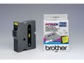 P-TOUCH Tape BROTHER TX-651 24mmx15m sort/gul
