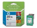 HP 351XL Tri-colour Inkjet Print Cartrid with Vivera Inks