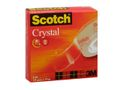 SCOTCH Tape SCOTCH Crystal 600 19mmx33m