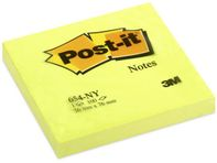 Note POST-IT 76x76mm neongul