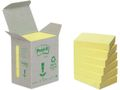 POST-IT Notes POST-IT 100% recycl 38x51mmgul6/FP