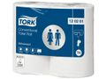 TORK Toiletpapir Tork Advanced Hvid X-Long T4 2-lags Sæk/4x6